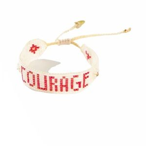 Courage Beaded Bracelet By Mishky NEW